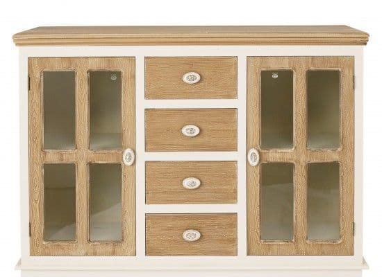 Rennes Soft White And Cream Sideboard 17LD377